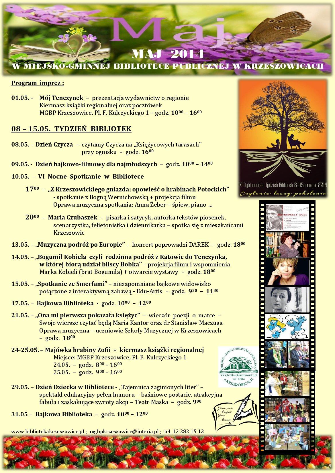 maj 2014 program